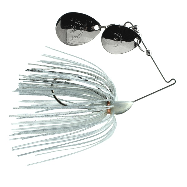 Creek Spin 33S - #3.5 Nickel and #3 Nickel with Shad Skirt