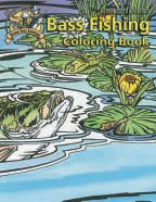 The Outdoor Youth Adventures Bass Fishing Coloring Book