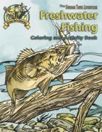 The Outdoor Youth Adventures Freshwater Fishing Coloring and Activity Book